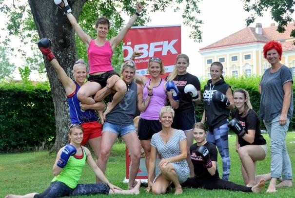 Claudia Strobl Siegerteam - Kickbox Nationalmanschft Damen Österreich