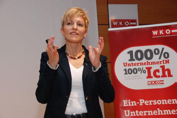 Claudia Strobl -Slalom Prinzip Vortrag